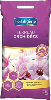 Terreau Fertiligène Orchidées