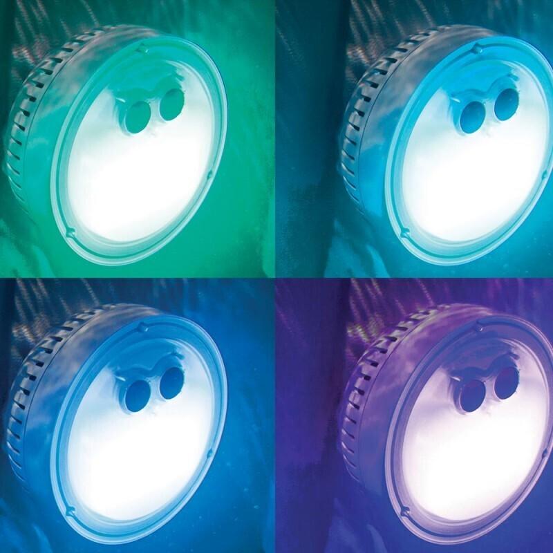 Lumière d'ambiance pour spa à bulles
