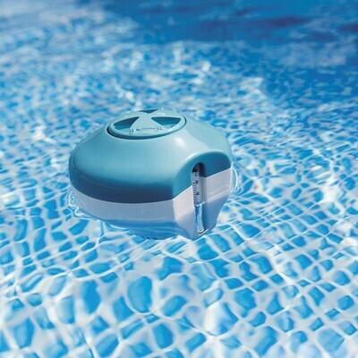 Diffuseur de produit flottant avec thermomètre