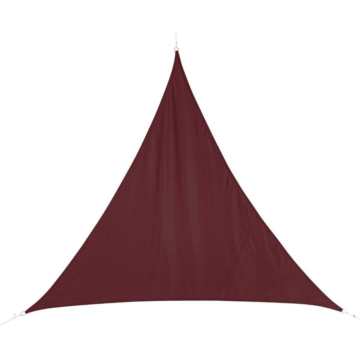 Voile d'ombrage triangulaire Curacao 2X2m