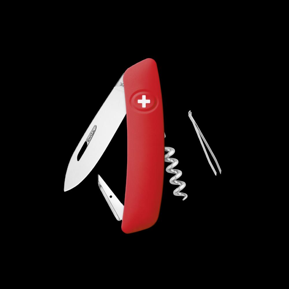Couteau Suisse D01 ROUGE