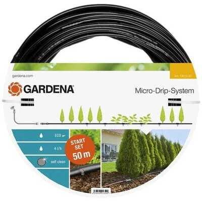 Kit d'arrosage goutte-à-goutte pour rangées de plantes L - GARDENA