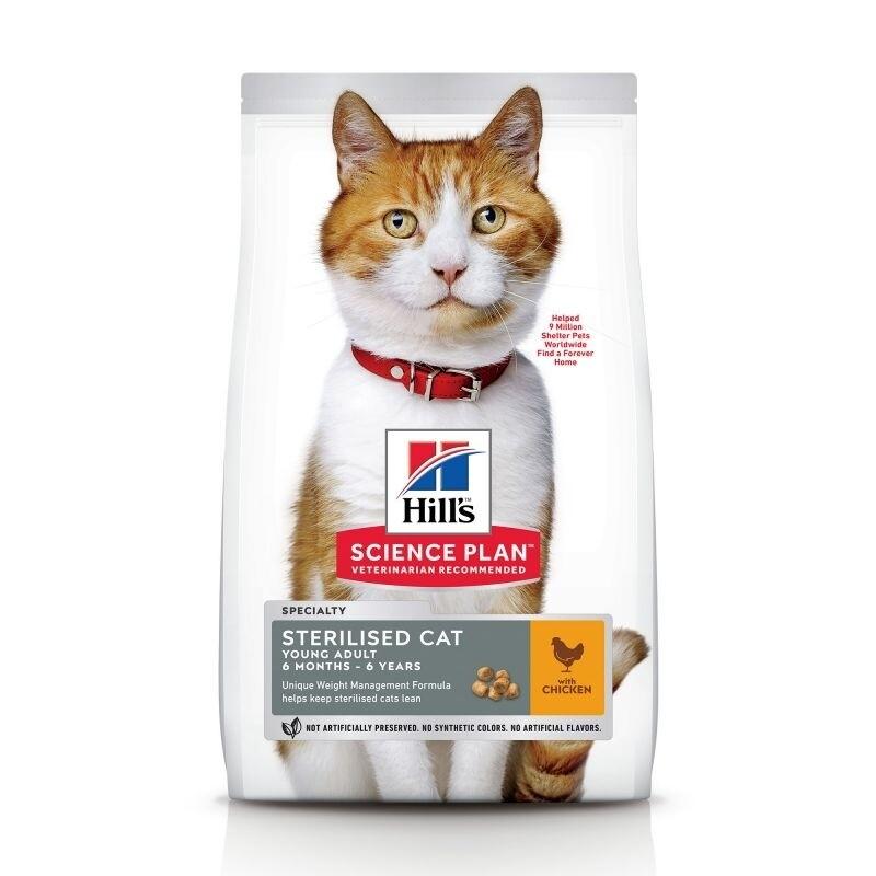 Hill's sterilised cat