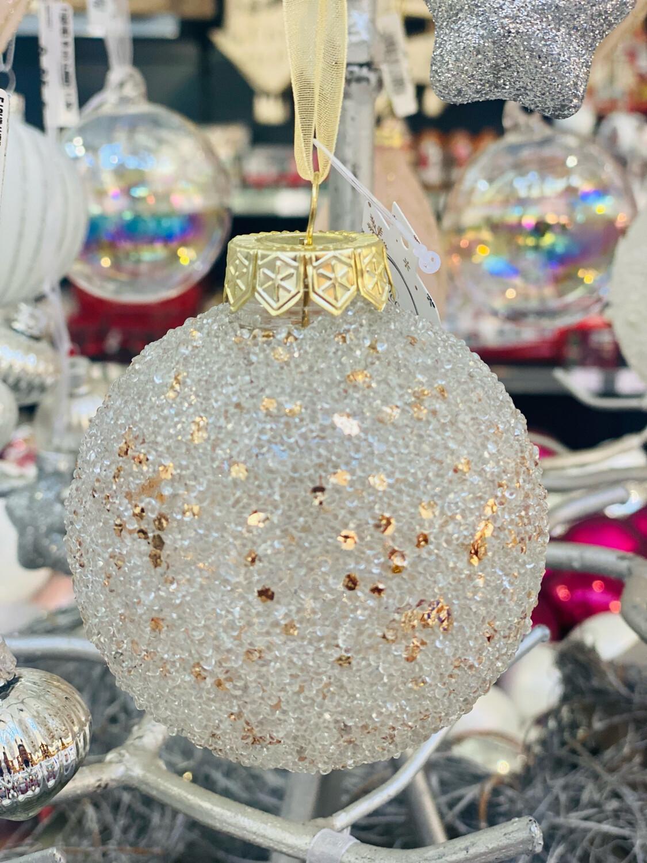 Boule de Noël Champagne