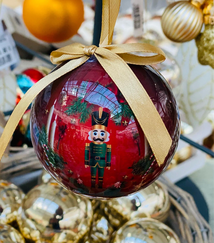 Boule de Noël casse noisette 75 mm
