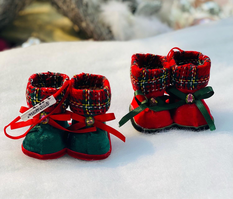 Bottes Noël à suspension