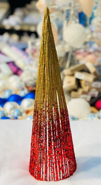 Conne rouge Noël H 40 cm