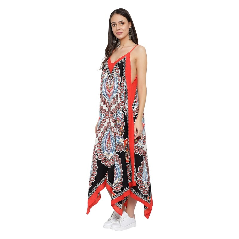 Rayon printed Beach Dress