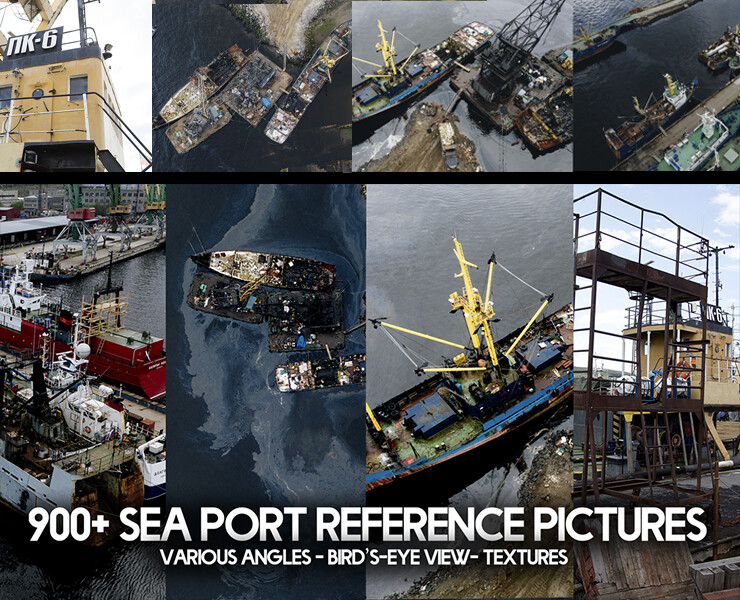 900+ Sea Port Reference Pictures