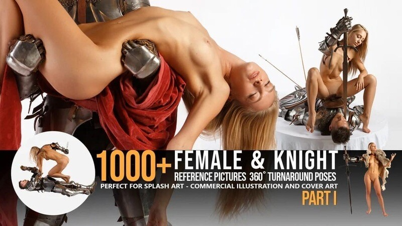 1000+ Female & Knight Reference Pictures- Part I