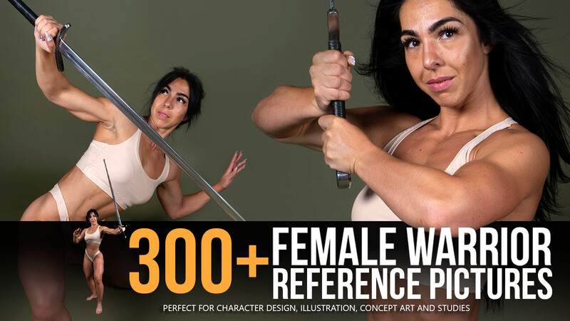 300+ Female Warrior Reference Pictures