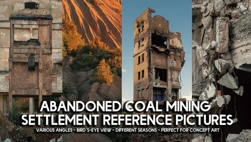 500+ Abandoned Coal Mining Settlement Reference Pictures