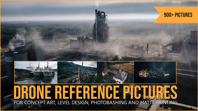 900+ Drone Reference Pictures - Bundle