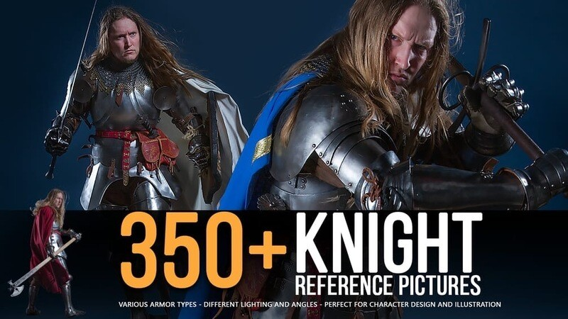 350+ Knight Reference Pictures for Artists