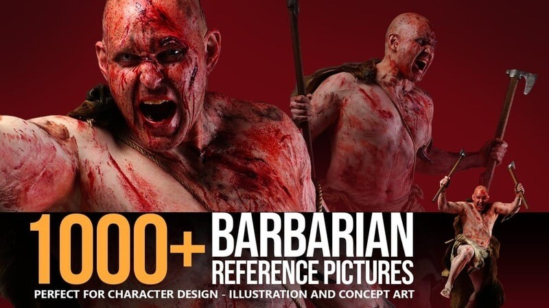 1000+ Barbarian Reference Pictures