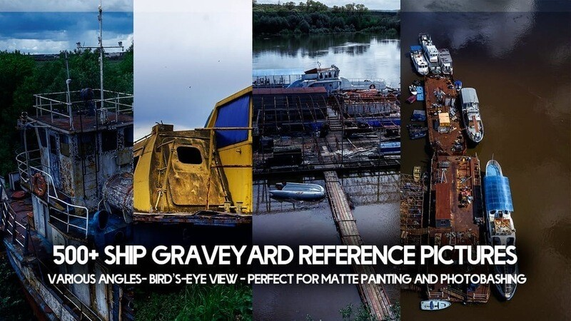 500+ Ship Graveyard Reference Pictures