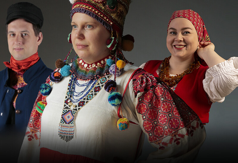 390 + Traditional Russian Costume Reference Pictures