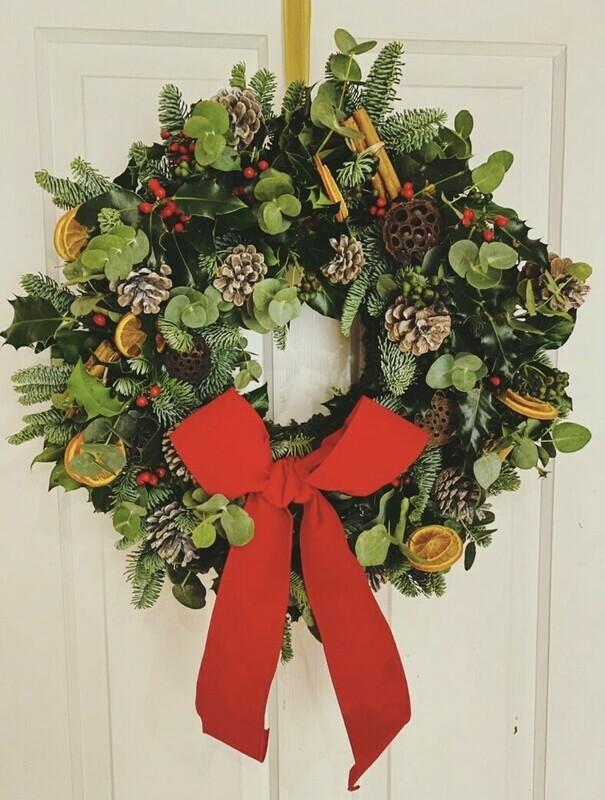 Handmade Christmas Wreath