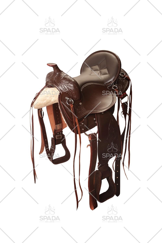 Sella Western FENDER Saddle con arcione in fibra di vetro   Cod USA 1067               Trasporto e assicurazione INCLUSO