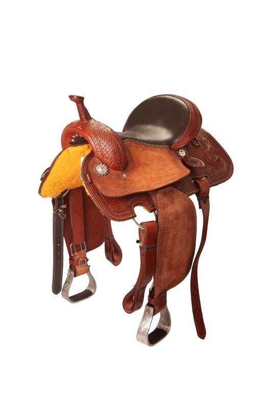 Sella Western FENDER Saddle con arcione in fibra di vetro  Cod. USA 1223 Trasporto e assicurazioni INCLUSO