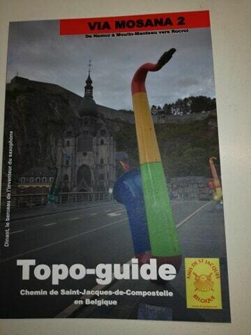 Topo-guide Compostelle via Mosana