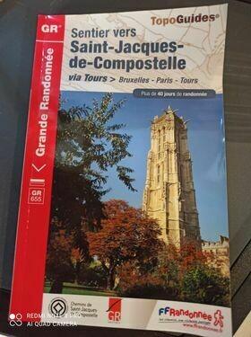 Topoguide Saint-Jacques de Compostelle via Tours
