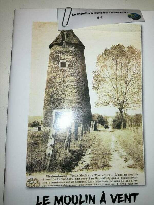 Le moulin à vent de Tromcourt