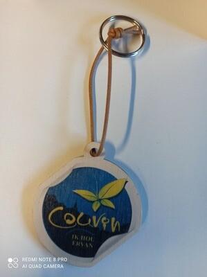 Porte clé en bois Couvin