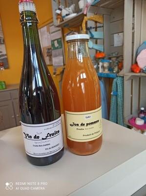 Les Scoubalous (jus de pomme, vins de fruits,...)