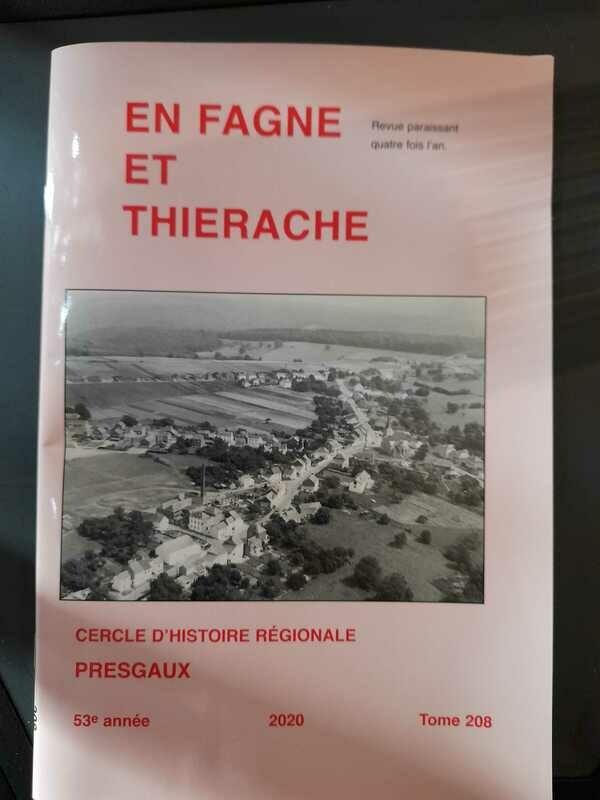 En Fagne et Thiérache - Cercle d'Histoire régionale