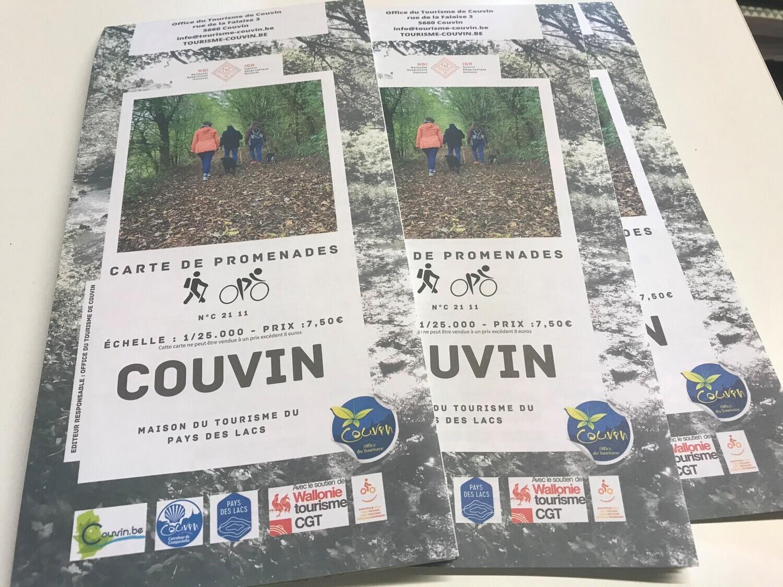 Carte promenade Couvin