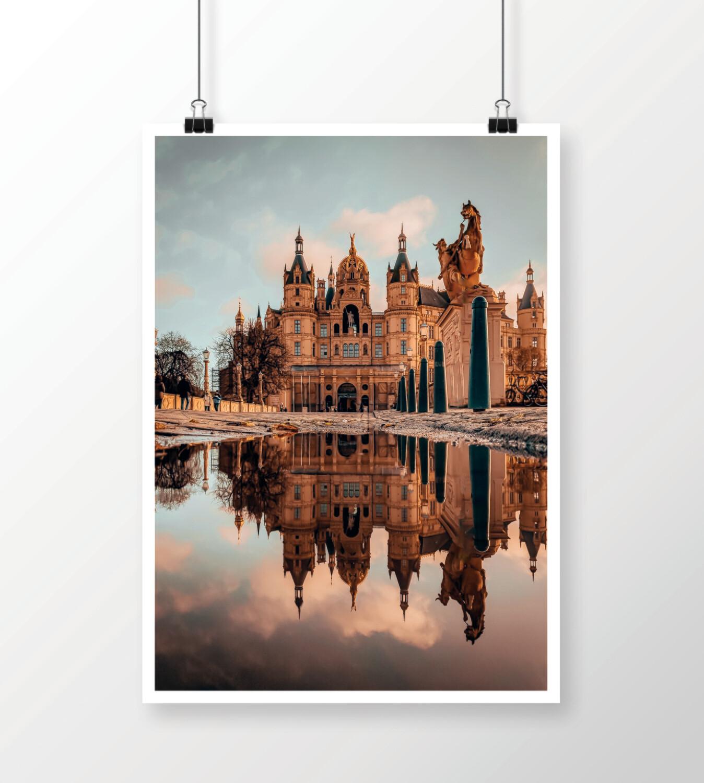 Fine Art Print - Schweriner Schloss