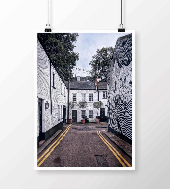 Fine Art Print - London Records