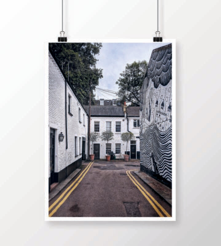 Fine Art Print - London Records