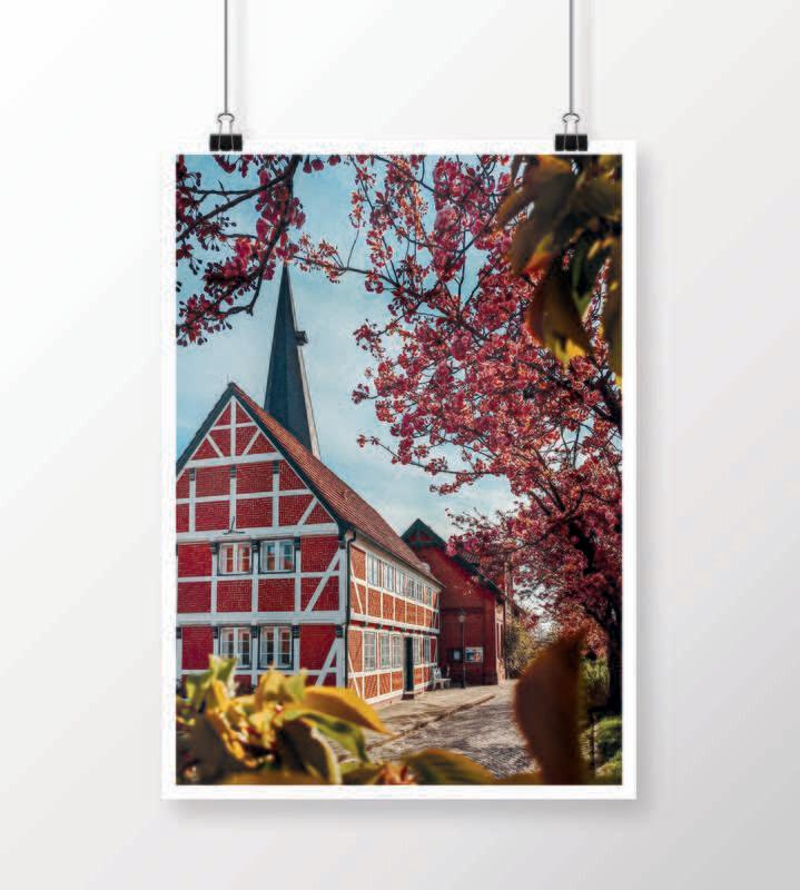 Fine Art Print - Jork im Frühling