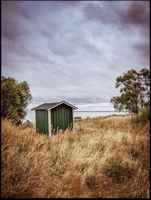 Poster - Skane Grüne Fischerhütte