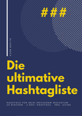 Ultimative Hashtagsliste & Hashtag-Guide