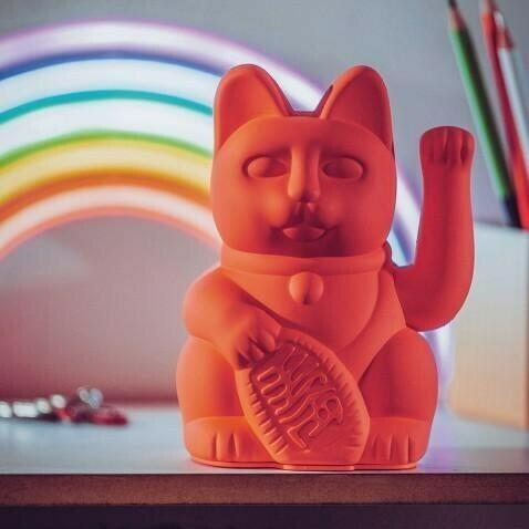 LUCKY CAT / NEON PINK