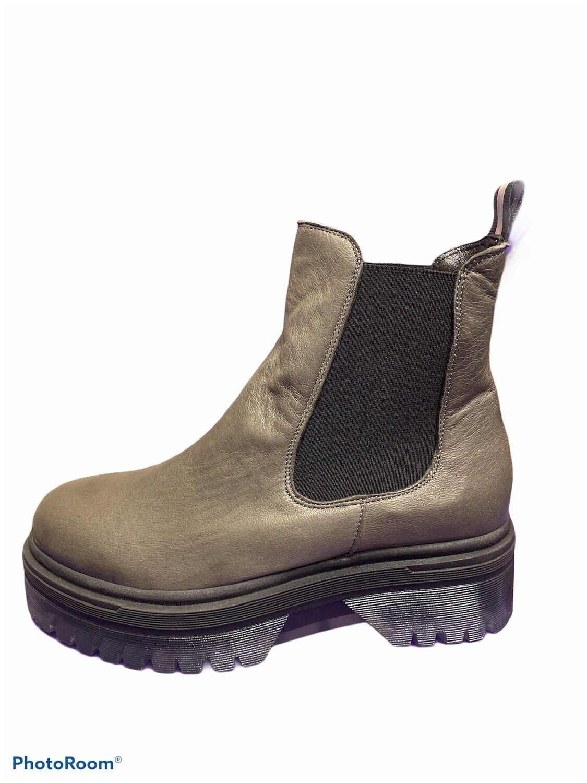 Chelsea Plateau Boot Anthrazit