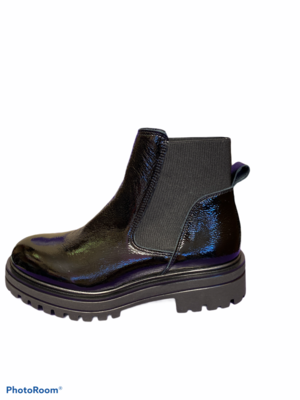 Lackleder Chelsea Boot