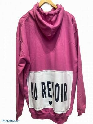 XXL Superhoodie Berry Au Revoir