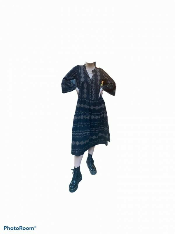 Oversized Kleid Cotton