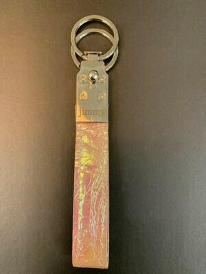 Schlüsselanhänger Rosé Flip Flop
