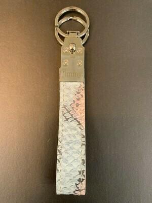 Schlüsselanhänger Blue/Rosé snake