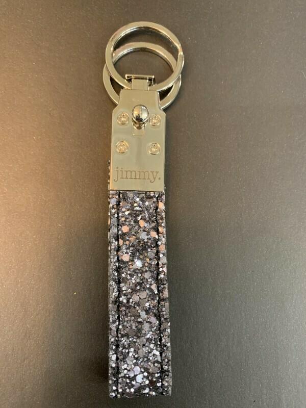 Schlüsselanhänger Glitzer