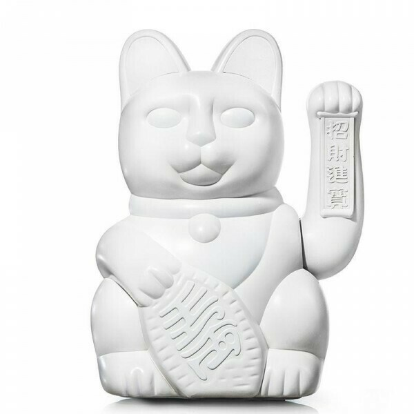 LUCKY CAT / WHITE