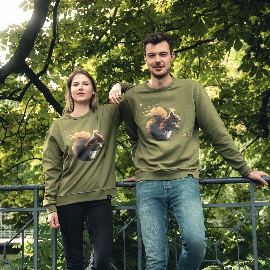 Sweater Eichhörnchen