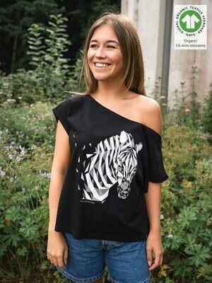 Shirt Zebra black