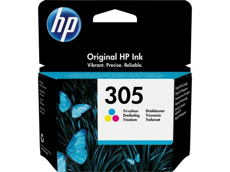 HP Encre Nr. 305 (3YM60AE) Cyan/Magenta/Yellow