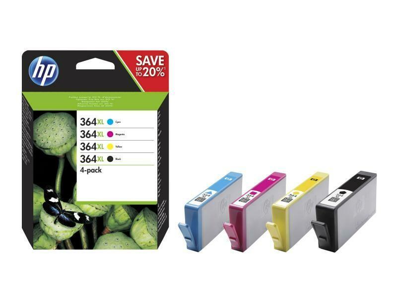 HP Combo Pack No. 364XL  C/M/Y/BK